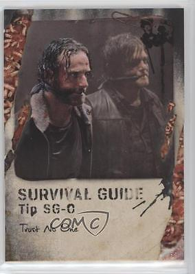 Trading Card Singles Creative 2016 Topps The Walking Dead Survival Box Guide Maggots Sg-o Trust No One /10 1u0 Non-sport Trading Cards