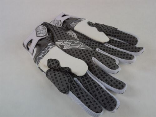 Nouveau FLY Commutateur Neige Gant Blanc//Gris BMX Motoneige Thinsulate Taille 7 ADULTE XS