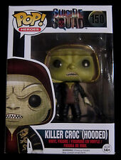 SUICIDE SQUAD Killer Croc - Limited Hooded Edition - Vinyl Figur - Funko Pop!