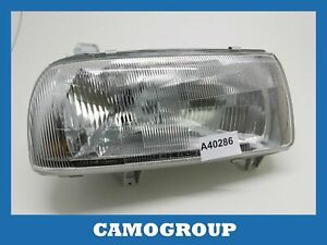 Front Headlight Right Front Right Headlight Depo For VW Vento 91 98