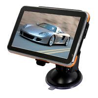 "5""inch GPS SAT NAV Car Navigation System AU EU US CA Maps Free Update 4GB"