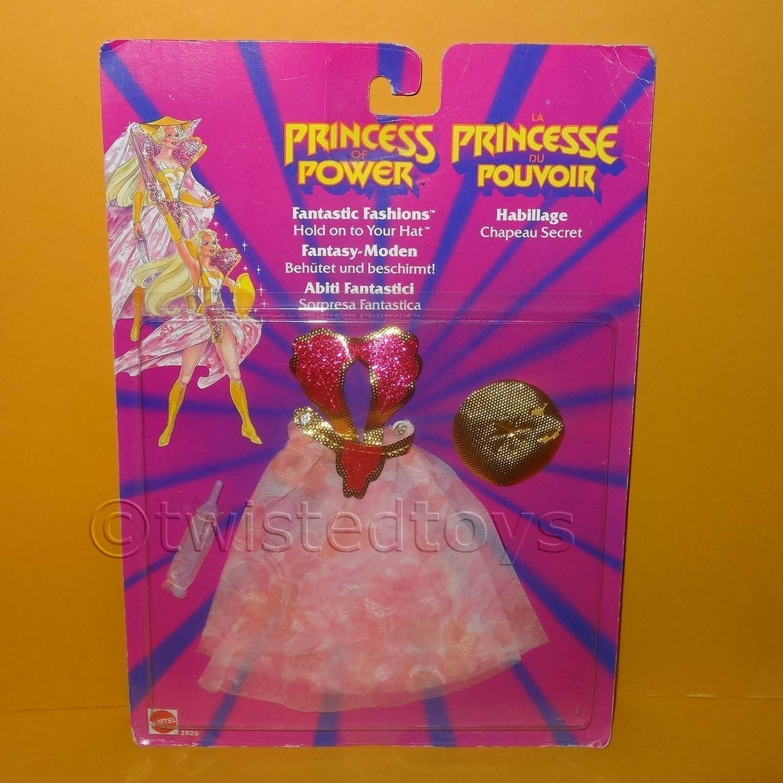 VINTAGE MATTEL SHE-RA PRINCESS OF POWER FANTASTIC FASHIONS HOLD ON TO YOUR HAT