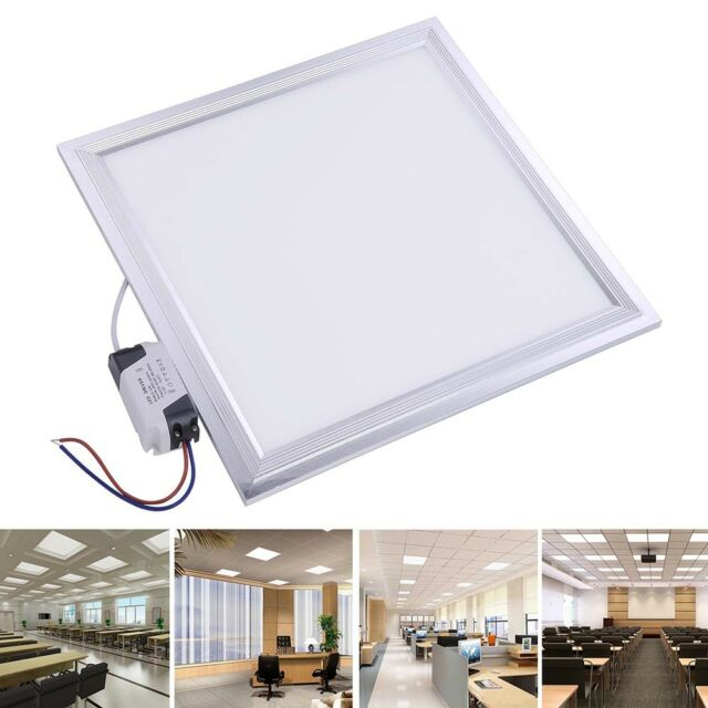 4X LED Flat Panel Light 72W Ultra Thin Edge Lit Bright 2x4ft 5760LM Non-dimmable