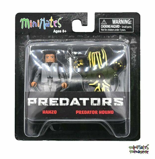MiniMates  Predators  HANZO /& PREDATOR HOUND  2 Figure Pack  NEW