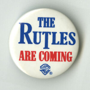 THE RUTLES Are Coming - Original 1978 Promo Pinback/Button-Beatles, MINT