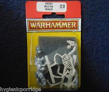 1993 Undead Skeleton Horsemen with Axe Citadel Warhammer Mounted Cavalry MIB GW