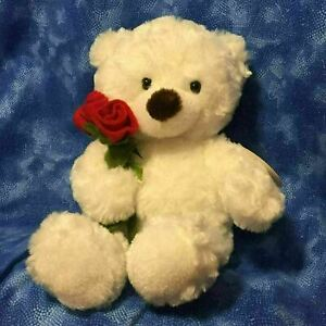 Hallmark-10-034-LI-039-L-LOVEBUD-White-Bear-Plush-Toy