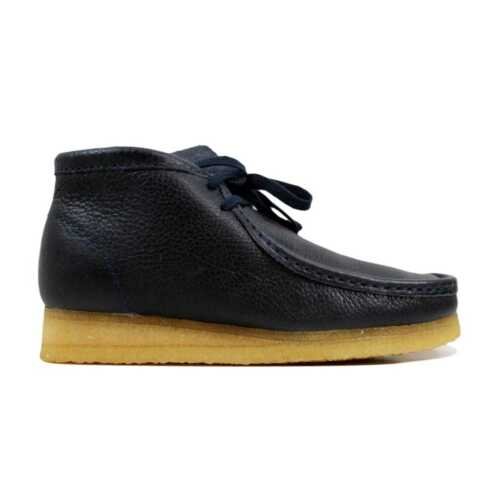 7 Wallabee 5 Boot Leath Navy Sz Uomo Clarks 26103603 caS0wHdqS