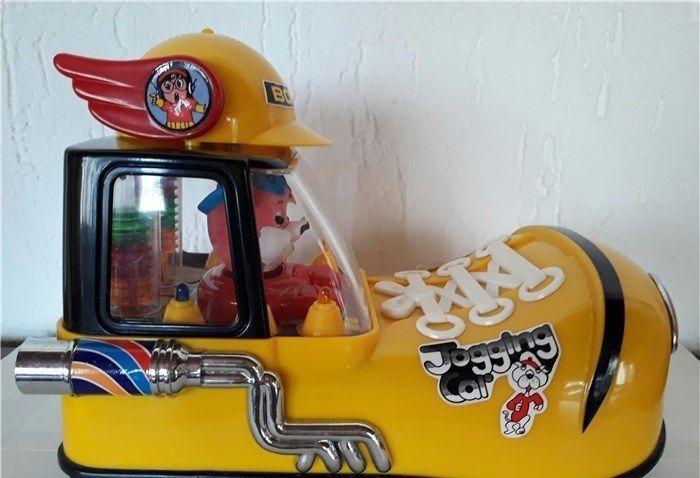 VEICOLO FIGURE VINTAGE TAIWAN 80 MANGA ANIME ANIME ANIME SLUMP,ARALE-AUTO SCARPA JOGGING CAR a4f10d