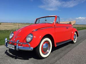 1960 Volkswagen Käfer Cabrio 1200 Traumzustand