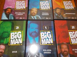 LOTTO-6-DVD-BUD-SPENCER-BIG-MAN-SERIE-COMPLETA