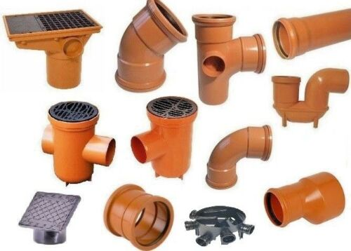 Underground Drainage Fittings 110mm