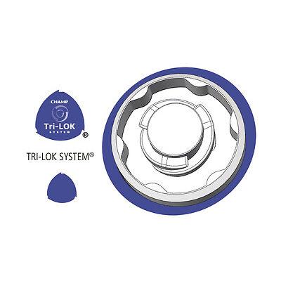 CHAMP Street Caps Spikes   Tri-Lok   Q-Lok   Small Metall Thread +++ NEU