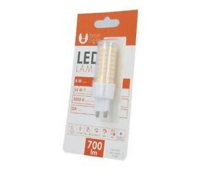 3x Led Lampe G9 700 Lumen 8w Warmweiss 54w G 9 Gluhlampe Birne