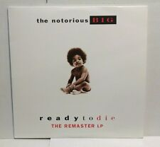 """Notorious B.I.G """"Ready To Die"""" The Remaster 2 LP Clean Version Promo Bad Boy"""
