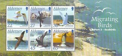 Alderney Block14 complete.issue. Unmounted Mint / Never Hinge Attractive Fashion Candid United Kingdom