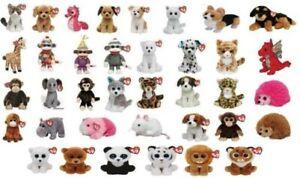 Ty Beanie Babies 5 7/8in Original Plush Stuffed Animal Mega Selection Figurines