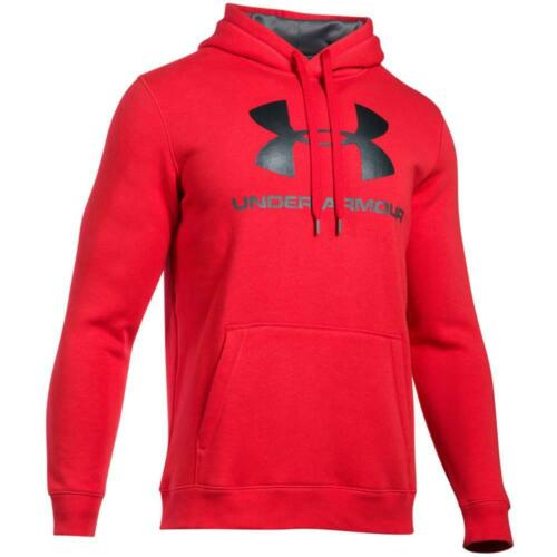 Under Armour Rival Polaire Fitted Graphic Hoodie Sweatshirt Capuche Pull