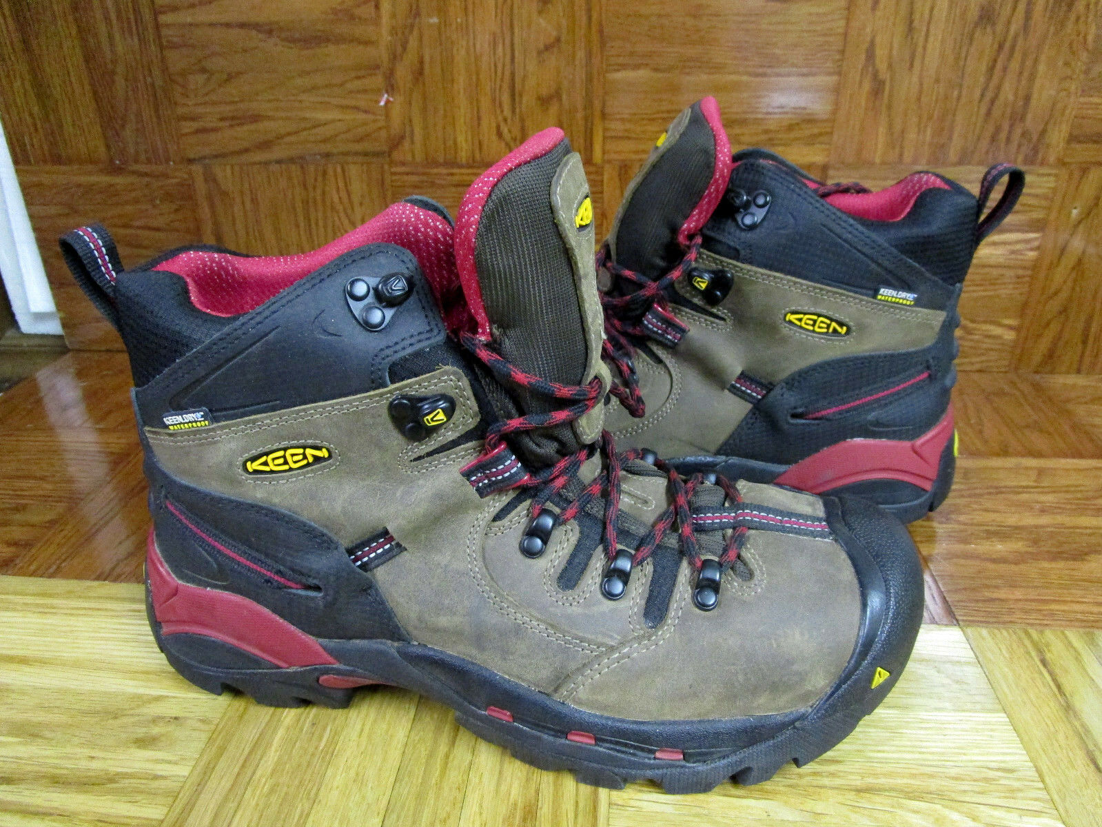 Keen Utility Pittsburgh Steel Toe Waterproof Work Stivali Size Size Size 10.5 D c9cd3d