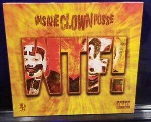 Insane Clown Posse - WTF! CD Single icp twiztid psychopathic records rydas amb