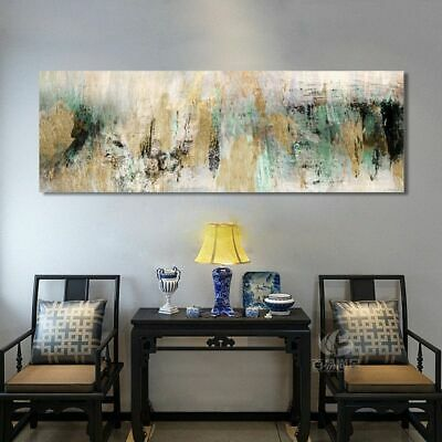 Abstract Art Oil Painting Posters Wall Canvas Pictures Living Room Home Decor Ebay
