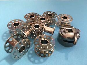 20 bobinas de metal para privilegio las máquinas de coser