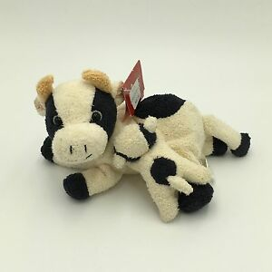 Incredible Details About Russ Clover Bean Bag Plush Stuffed Animal Cow Mama Baby Set 6 Long 2 5 Baby Bralicious Painted Fabric Chair Ideas Braliciousco