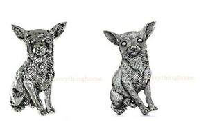 CHIHUAHUA-DOG-GRILLIE-AUTO-TRUCK-CAR-GRILLE-ORNAMENT-ANTIQUED-NICKEL-OR-PEWTER