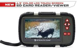 Stealth-Cam-4-3-034-Color-Lcd-Touch-Screen-Sd-Card-Reader-Viewer-Trail-Cameras