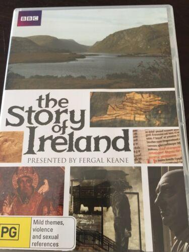 "1 of 1 - ""The Story Of Ireland"" Presented by Fergal Keane (DVD, 2011, 2-Disc Set, Reg 4)"