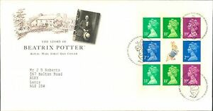 ROYAL MAIL STORY OF BEATRIX POTTER BOOK  STAMP 1ST DAY COVER BLOCK - Poulton-le-Fylde, United Kingdom - Returns are accepted within the terms set out on eBay and by law. Most purchases from business sellers are protected by the Consumer Contract Regulations 2013 which give you the right to cancel the purchase within 14 day - Poulton-le-Fylde, United Kingdom