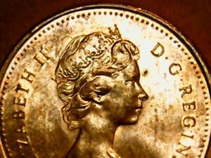 1979 Canadian Penny BU Red Cent Double 979 & Words & Queen's Face Beautiful