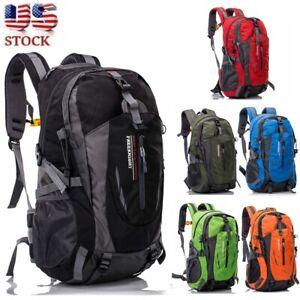Waterproof-Outdoor-Sport-Hiking-Camping-Travel-Backpack-Daypack-Rucksack-Bag-40L