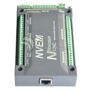 6-Axis-200Khz-CNC-Ethernet-Motor-Controller-Card-Breakout-Interface-Mach3-Board