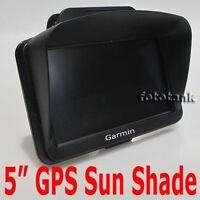 "Sun Shade Visor for Garmin nuvi 5"" inch GPS 50 50LM 1450T/1450LMT/1490T/1490LMT"