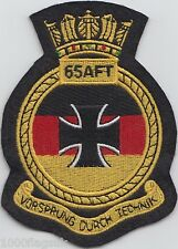 Germany Navy 65 AFT Embroidered Crest Badge Patch German Navy Approved