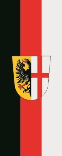 Fahne Flagge Memmingen im Hochformat verschiedene Größen