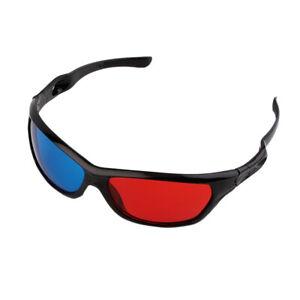 2pcs-3D-Glasses-Red-Blue-Black-Frame-For-Dimensional-Anaglyph-TV-Movie-DVD-Game
