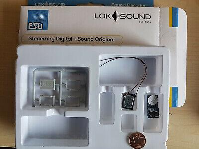 Bellissimo Esu 58814 Micro Loksound 5 Dcc/mot/mfx Plux16 + Altop + Desiderio Sound-mostra Il Titolo Originale
