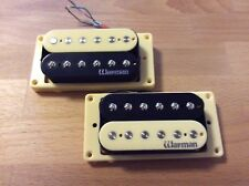 Warman Zebra Humbucker Guitar Pickups ( matched pair ) 2018 specification