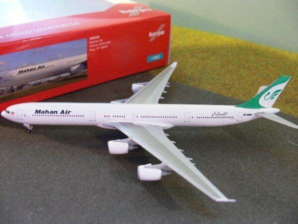 1 500 Herpa Mahan Air Airbus A340-600 529228  | ein guter Ruf in der Welt