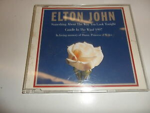CD  Elton John Something About The Way You Look Tonight / Candle In The Wind (8)