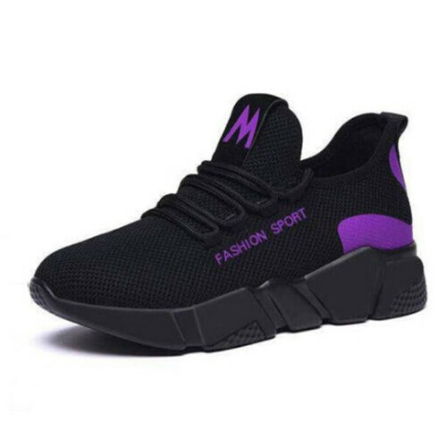 Ladies Sneakers Casual Sport Walking Shoes Breathable HollowCRH