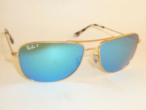f060a6f9b99 New Ray Ban Chromance Sunglasses Matte Gold RB 3543 112 A1 Polarized ...