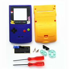 Limited Edition Blue Yellow Full Housing Shell for Nintendo Game boy Color GBC
