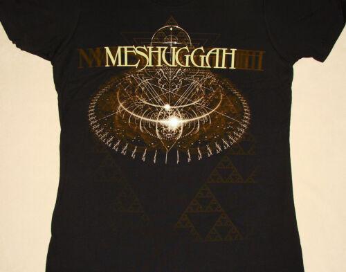 Meshuggah Babydoll Koloss Collider Triangles Logo Juniors Shirt NEW M L