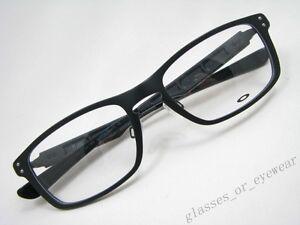 40b53f0be9b Eyeglass Frames-Oakley PLANK OX3090 22-193 Matte Black Aluminium ...