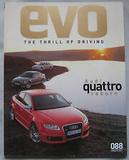 EVO 02/2006 featuring Lotus Europa S, Audi RS4, BMW M3, AMG Mercedes C55, Nissan