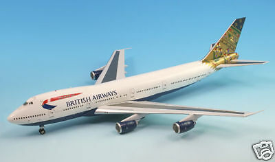 British Airw.  India Tail  B-747-200,(G-BDXO) Inflight