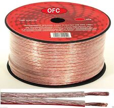 5m 2 X 1.5mm Speaker Wire CCA Oxygen Free Coppe Cable